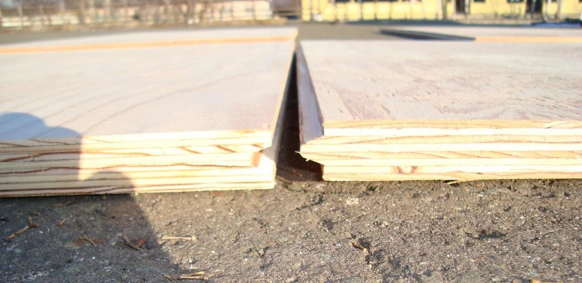 さねがあると床のきしみ音の防止に役立ち、継ぎ手の強度も増します。