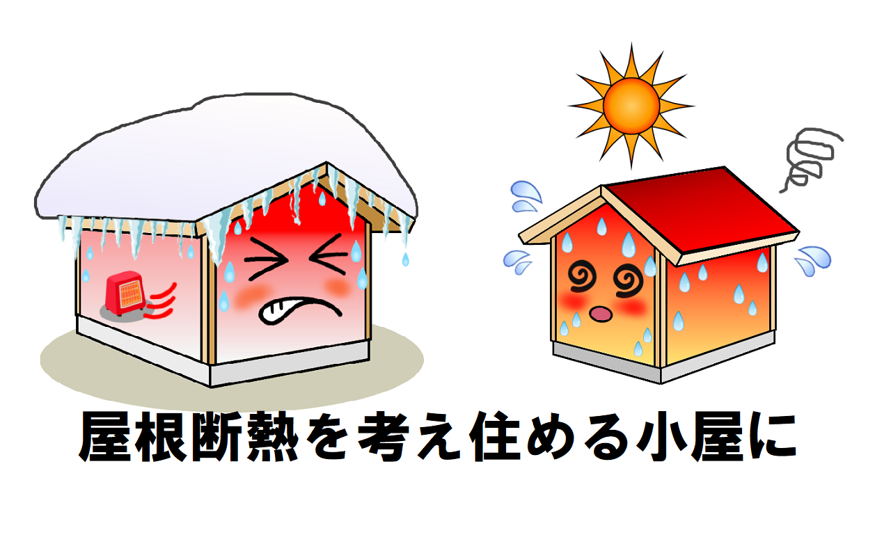 暑さ寒さで断熱を考える