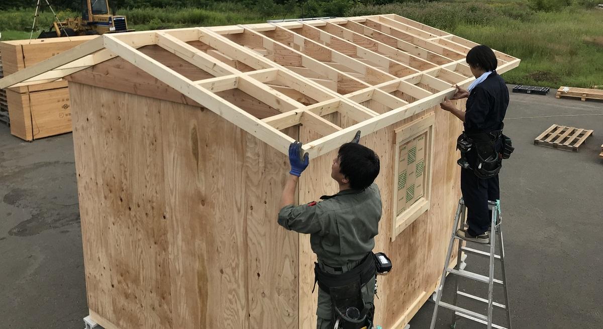 助けが必要な作業をハッキリさせるのが小屋作り計画で大切