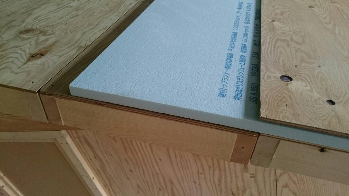 屋根断熱はクーラーの効きが良くなり、省エネでエコです。