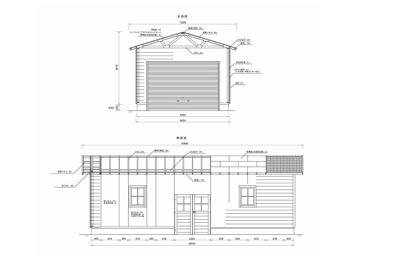 基礎設計の完成時には、電気水道ガス等のライフラインが決定され、トイレやお風呂の場所と間取りも決まっています。