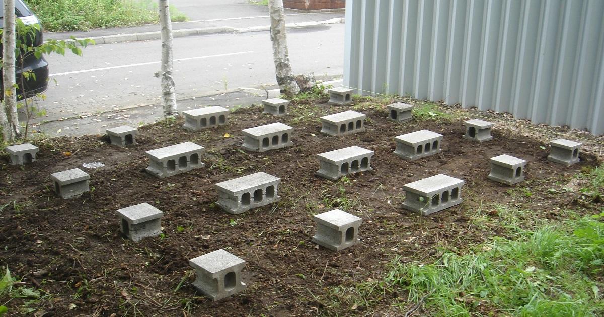 重量ブロック(C種)は、高さが10~15cmや、半切りという小さなブロックがあります。
