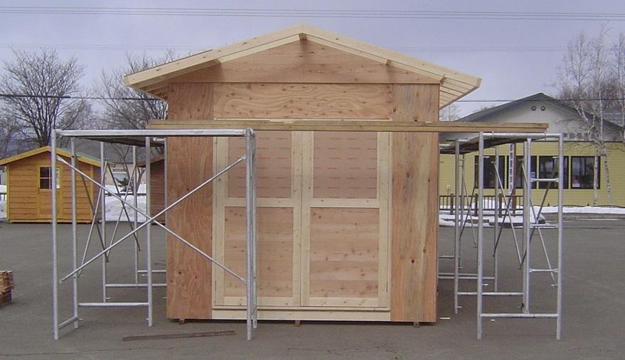 平屋建てはペンキ塗りでしたら、外壁補修が自分のDIYで。