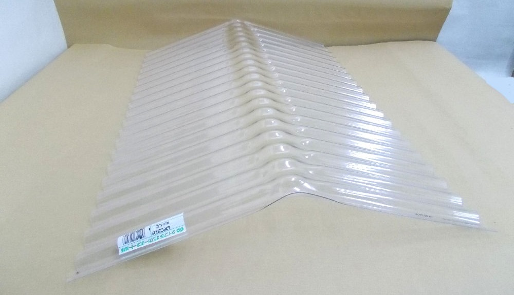 波板専用の棟材波板