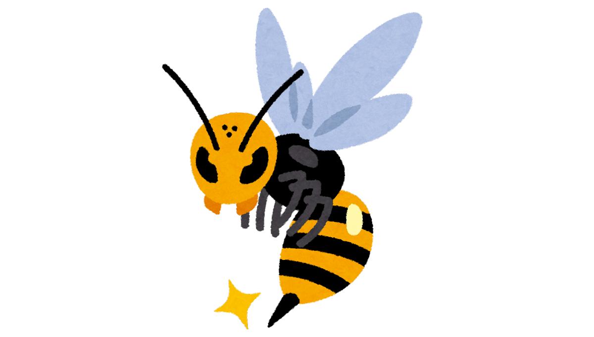 パニックになる蜂の室内侵入