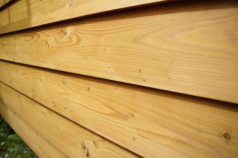 外壁に何も塗らない無塗装だとカビの発生が懸念され、釘穴あたりから腐朽がはじまりやすいと考えられます。